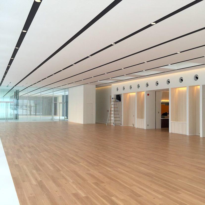 YKK AP R&Dセンター内観写真その1