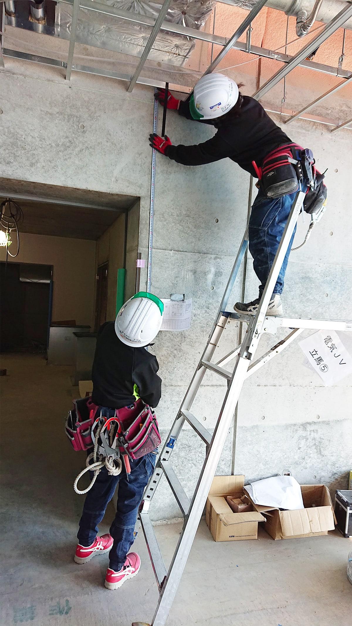 軽量鉄骨下地工事 壁下地
