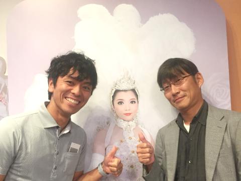 社員旅行宝塚の写真